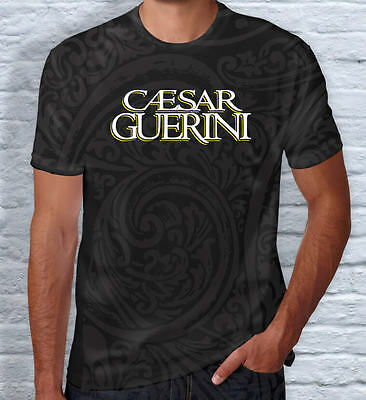 Caesar Guerini T-Shirt Clay Shooting - Black/grey patterned
