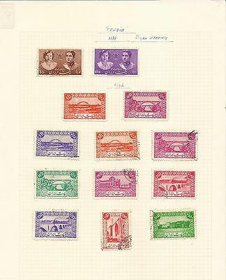 Middle East. 1939 – 1962. Six Sheets Of Mint And Used Stamps