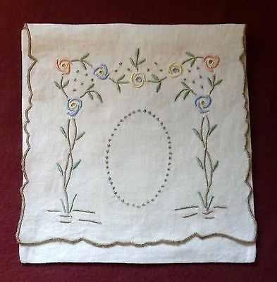 Embroidered Handkerchief Pocket