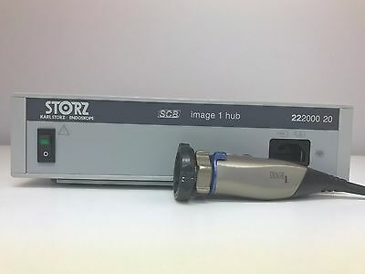 STORZ  SCB Image 1 222000 20 with Image 1 S3 Camera Head 22220130