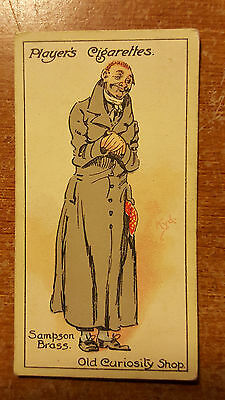 """John Player's Cigarette Card """"Characters from Dickens"""" #29 Sampson Brass"""