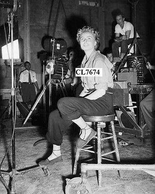 Ingrid Bergman on the Movie Set of 'For Whom the Bell Tolls' Photo
