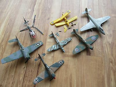 Airfix / Revell Kit 7 x 1:72 Plane Job Lot For Spares, Repairs.