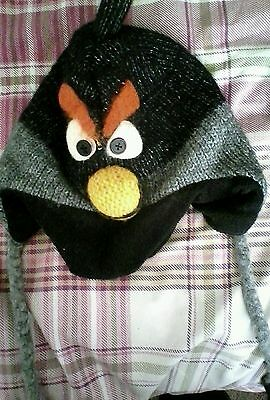 Angry birds winter hat one size