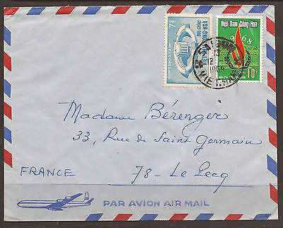 Viet-Nam. 1969. Air Mail Cover To France.