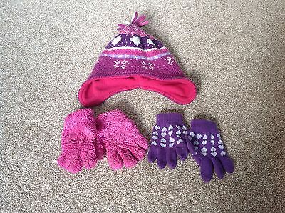Girls Hat And Gloves