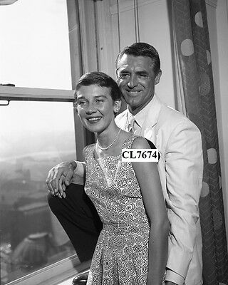 Cary Grant and His Wife Betsy Drake in Vancouver, Canada Photo