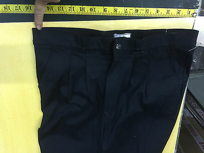 "Dublin Mens Stretch Jodphurs 36"" Waist Black Lightweight summer cotton"