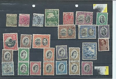 Grenada stamps.Small used lot (Y652)