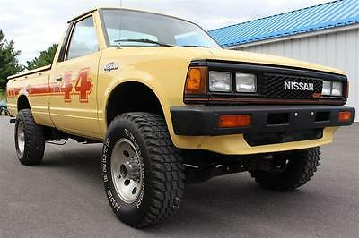 Nissan: Other Pickups 4x4 1983 Nissan 4x4 Pickup