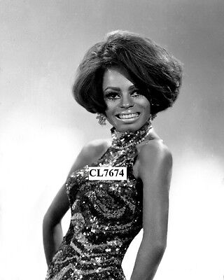 Diana Ross of The Supremes Poses for a Studio Portrait Photo