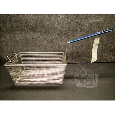 "Pitco A4500305 Replacement Half Size Steel Deep Fryer Basket, 13-1/4""X8-1/2""X6""*"