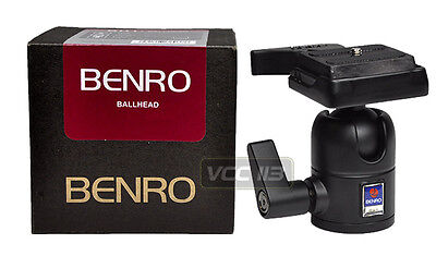 Benro BH2 Ballhead Single Action with Quick Release - Max load: 17.6 lb OPEN BOX