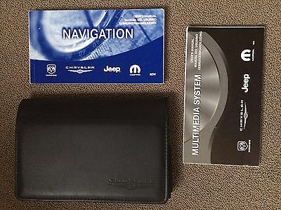 Chrysler Jeep navigation and multimedia manual