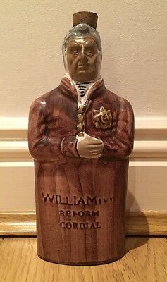 Denby Stoneware Reform Flask 'William IV' (Reproduction)