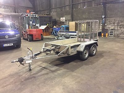 Indespension AD2000 Plant Trailer 8x4 From Trucks & Tractors Ltd