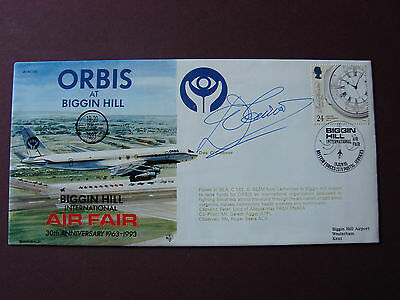Des O'Connor SIGNED First Day Covers Autograph 4.5 x 8.5 1993