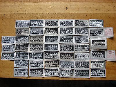 Collection of 44 Typhoo Tea Collectors Cards Football Teams