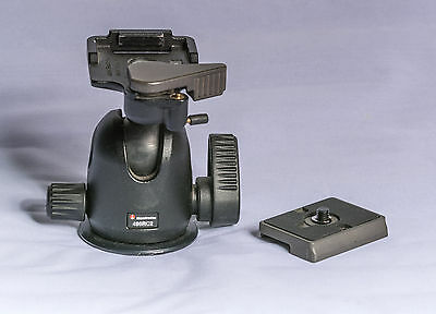 Manfrotto 496RC2 Ball Head with Quick Release Plate