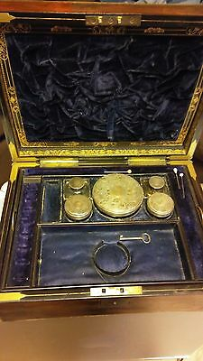 1800's victorian makeup jewelry carriage box. Stunning, very rare  OOAK!