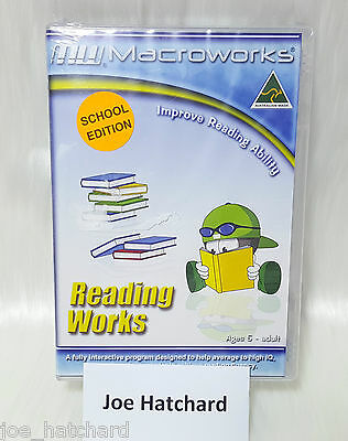 Macroworks Reading Works Improve Reading Ability SCHOOL EDITION - Ages 5 - Adult