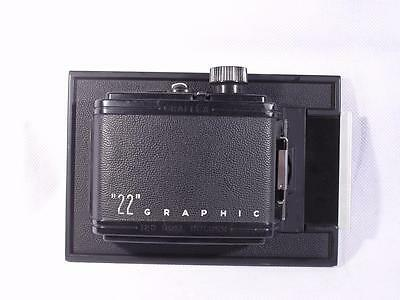 Graflex 22 120 6x6 12 exposure Film Back For 4x5 Crown/Speed Graphic Cameras