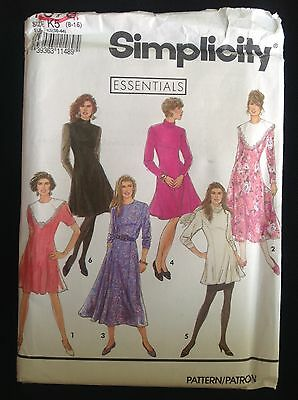 Pattern Simplicity 7378, retro 90s misses'/petite dress, tunic 8-16