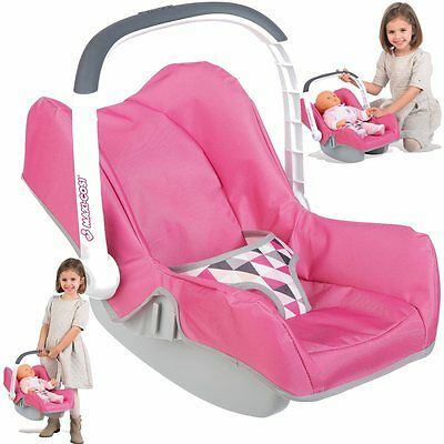 Car seat Maxi Cosi for Dolls to 42 cm m. carrying handle and storage compartment