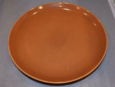 """Russel Wright Iroquois Casual  10"""" Dinner Plate, set of 2 Apricot"""