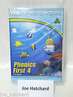 Macroworks Phonics First 4 - Early Reading Skills - Ages 4 - 7+