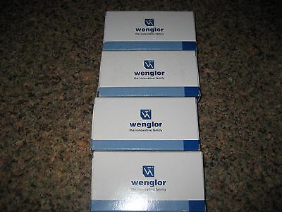 4 Wenglor KN88PA3S897 Retro Reflex Sensors New in Boxes