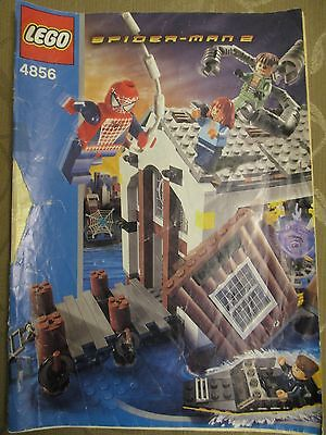 Lego 4856 - Spiderman 2 - Instruction Manual Only