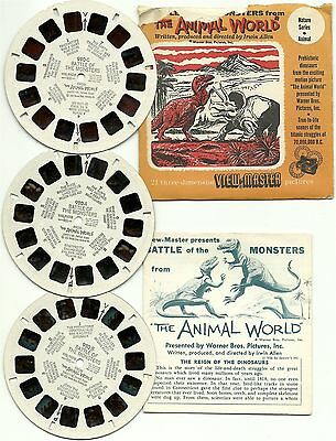 Viewmaster S3 Battle of the Monsters from Animal World Ray Harryhausen