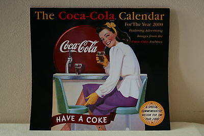 Coca-Cola 2000 Calendar Commemorative Archived Advertising Images