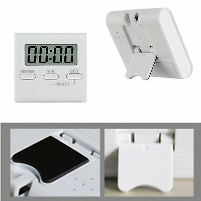 Hot LCD Digital Kitchen Cooking Timer Count-Down Up Clock Loud Alarm Magnetic