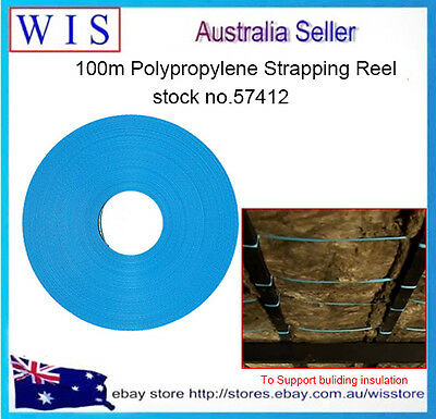 PP Strapping & Banding for Support Building Insulations,Constuction Part,100m(L)