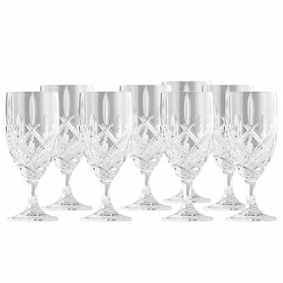 Gorham Lady Anne Signature Set of 8 14 oz. Crystal Iced Beverage – New in Box