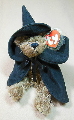 "Ty Attic Treasures Beanie Bear, ""esmerelda"", 1993, Original Adult Owned, Mint"