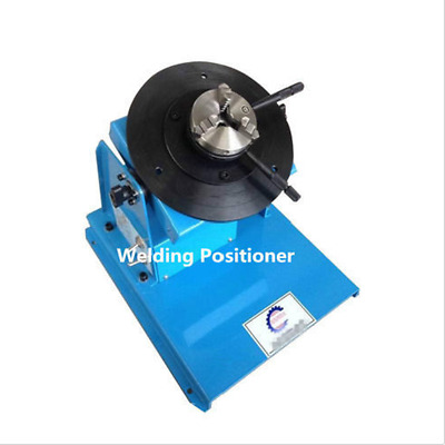 2-18RPM 10KG Light Duty Welding Turntable Positioner with 65mm Chuckm