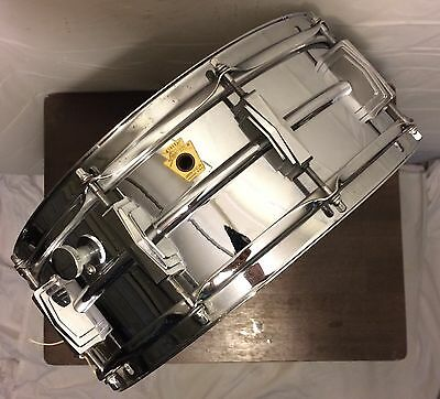 "Vintage Ludwig Supraphonic 14"" Snare Drum - Made in USA"
