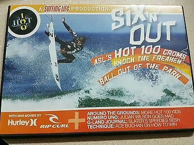 six n out surfing life surf dvd disc as new cond