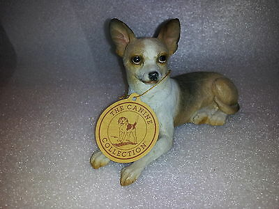 New With Tag Tan Sitting Chihuahua By The Canine Collection