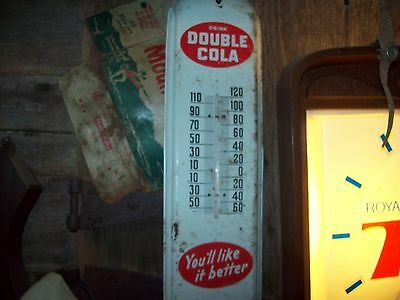 vintage Double Cola thermometer 1960's Made in USA.