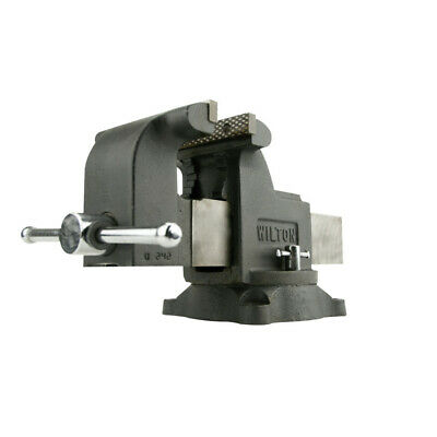 Wilton WMH63304 WS8, Shop Vise, 8 in. Jaw Width, 8 in. Jaw Opening, New
