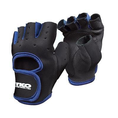 TKO 2699 Mens Navy Padded Fitness Workout Athletic Gloves S BHFO