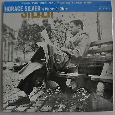 Horace Silver 6 Pieces Of Silver Japan Blue Note LP 200g DBLP-059 Insert Obi