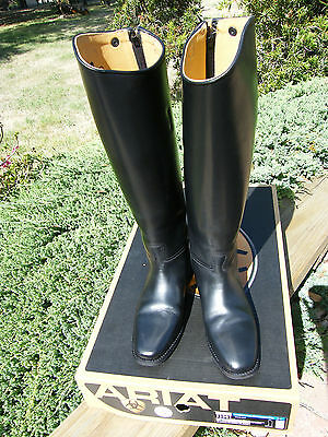 Ariat Crowne Pro Tall Field Riding Boot Zip, Black, Women's Size 9(USA) 40(EUR)