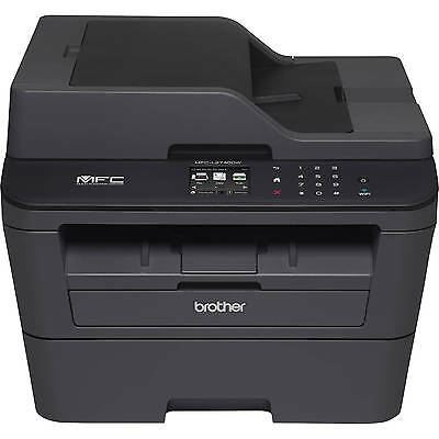 Brother MFC-L2740DW All in One Mono Laser Wireless Multifunction Printer Fax