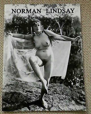 Norman Lindsay Nude Photograph Prospectus Signed issued by The Lytlewode Press