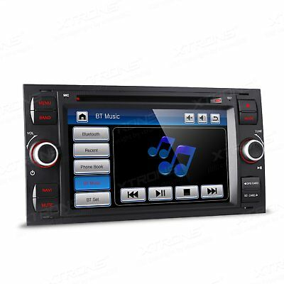 """7"""" HD Car DVD Player GPS Stereo Head Unit For Ford Focus Mondeo Kuga C-Max S-Max"""